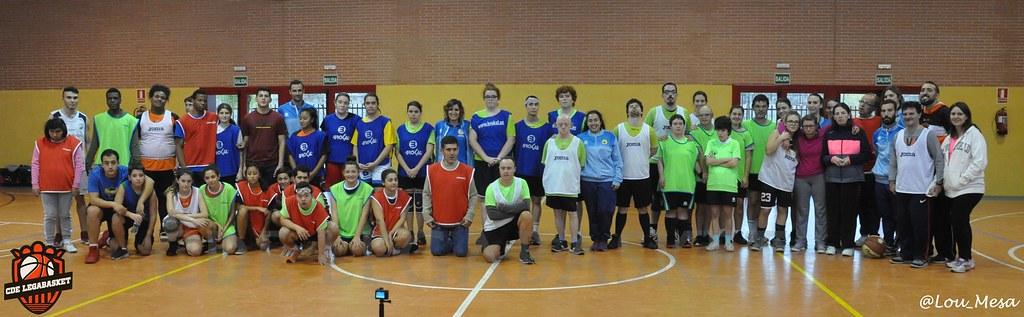 18/11/2018.- Torneo Baloncesto: Combinado Legabasket vs ATAM Pozuelo
