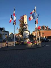 Memorial at Le Crotoy