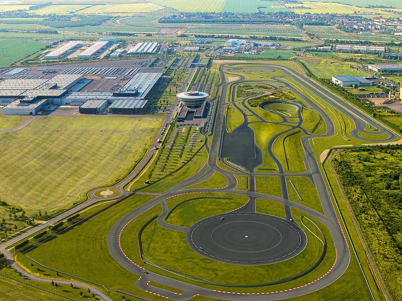 Porsche Leipzig Test Track