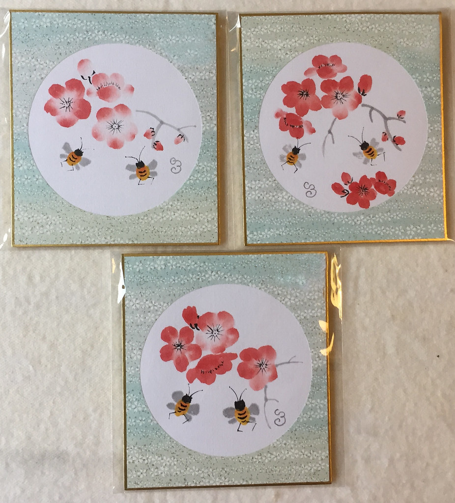 Plum Blossom and Bees