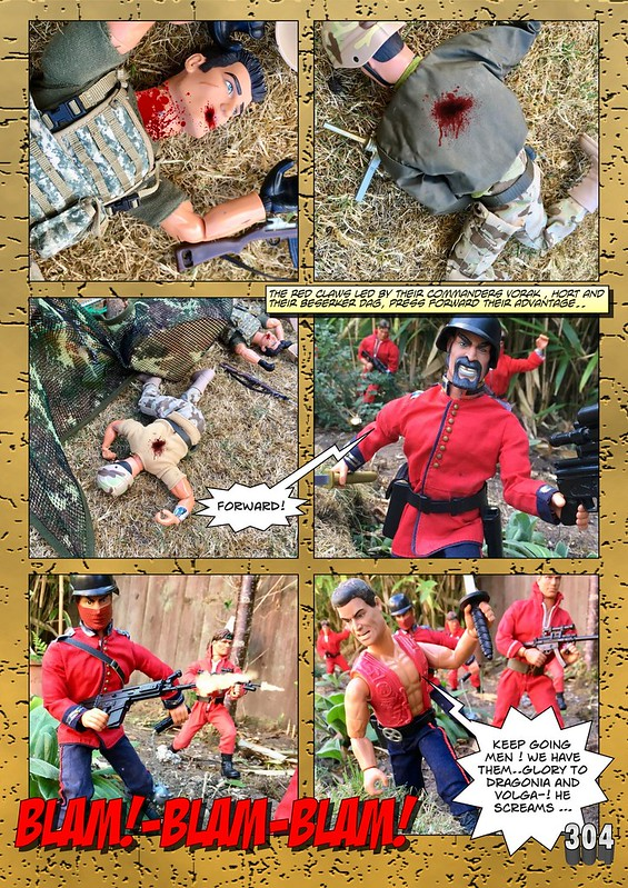 BAM2272 Presents - An Old Face Returns! Chapter Eighteen - The Munrovians Prepare their defences - Part Two 44867944205_22eaaa0cfe_c