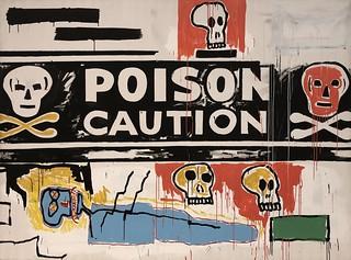 Poison (Collaboration N°62), 1984, Jean-Michel Basquiat & Andy Warhol