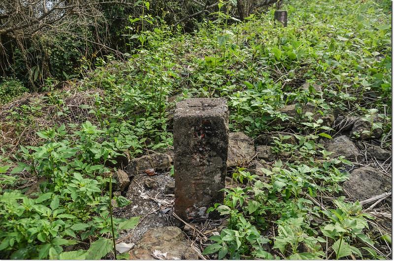 上四社寮山曾文溪水源27水源保護區界界樁(Elev. 670 m)