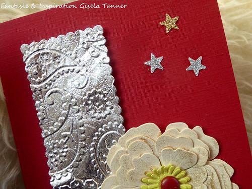 Weihnachtliche Geburtstagskarte