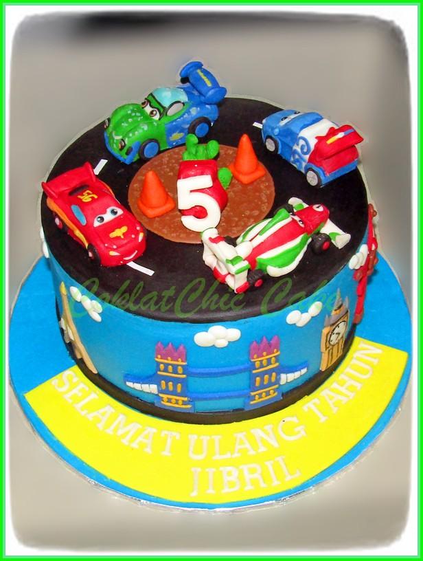 Cake Disney Cars JIBRIL 20 cm