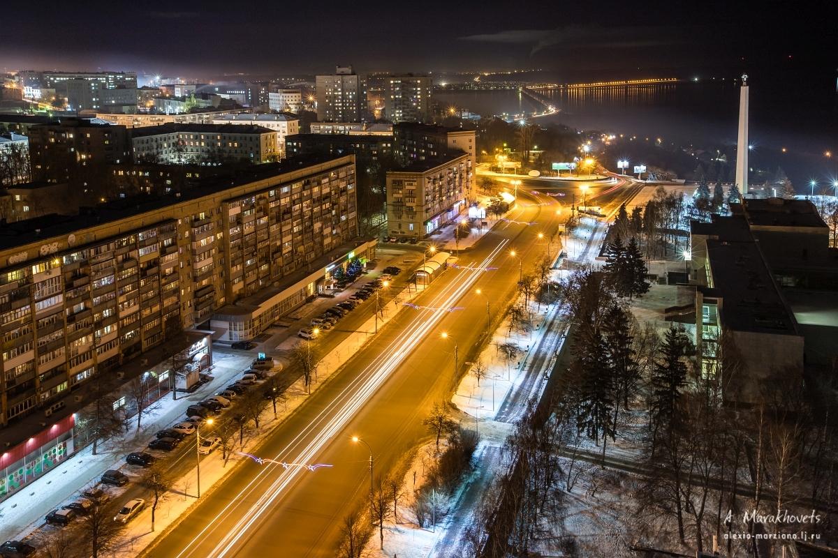 Ульяновск, Минаева, панорама