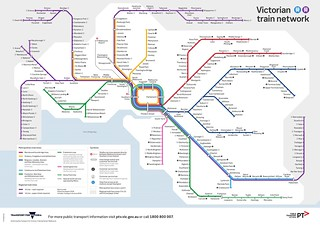 PTV train map August 2018 | by Daniel Bowen
