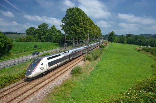 🇫🇷 TGV inOui 8572 @ Baigts-de-Béarn