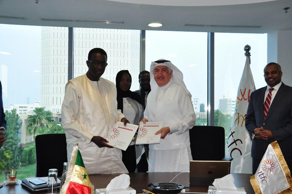 Le Ministre de l'Economie et des Finances du Sénégal, Amadou Ba reçu à Jeddah par le Président de la BID, Bandar Al Hajjar2