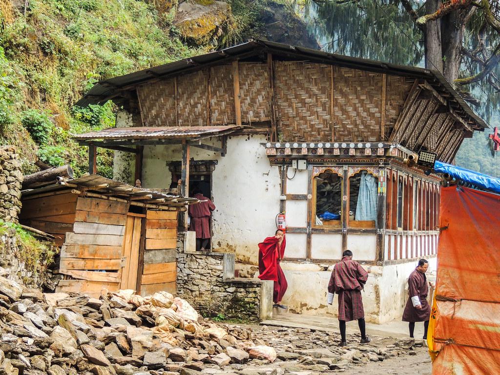 Monasterio en Bután