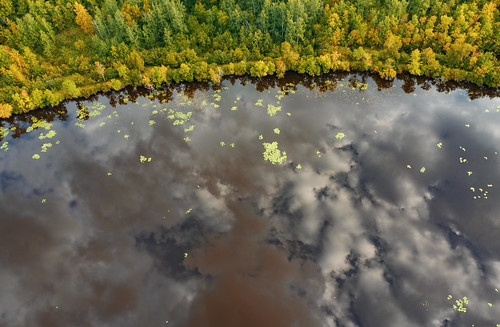 Autumn on the St. Louis River, Duluth, Minnesota