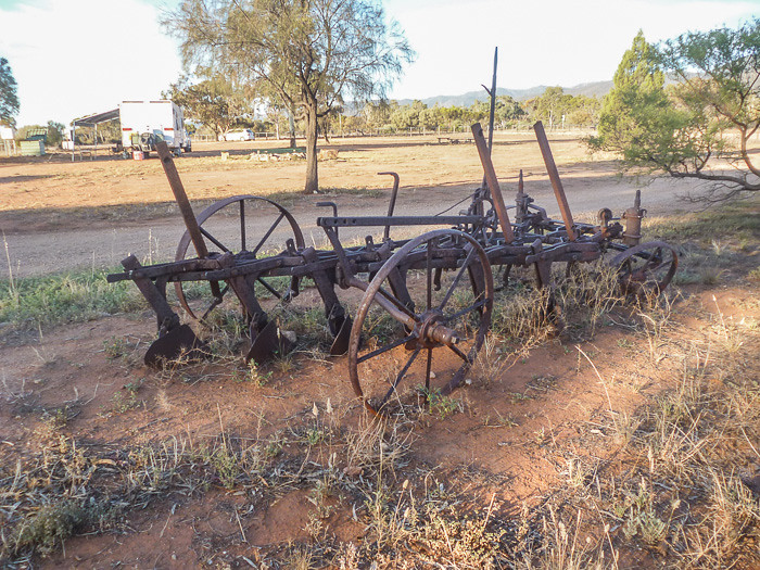 An old plough