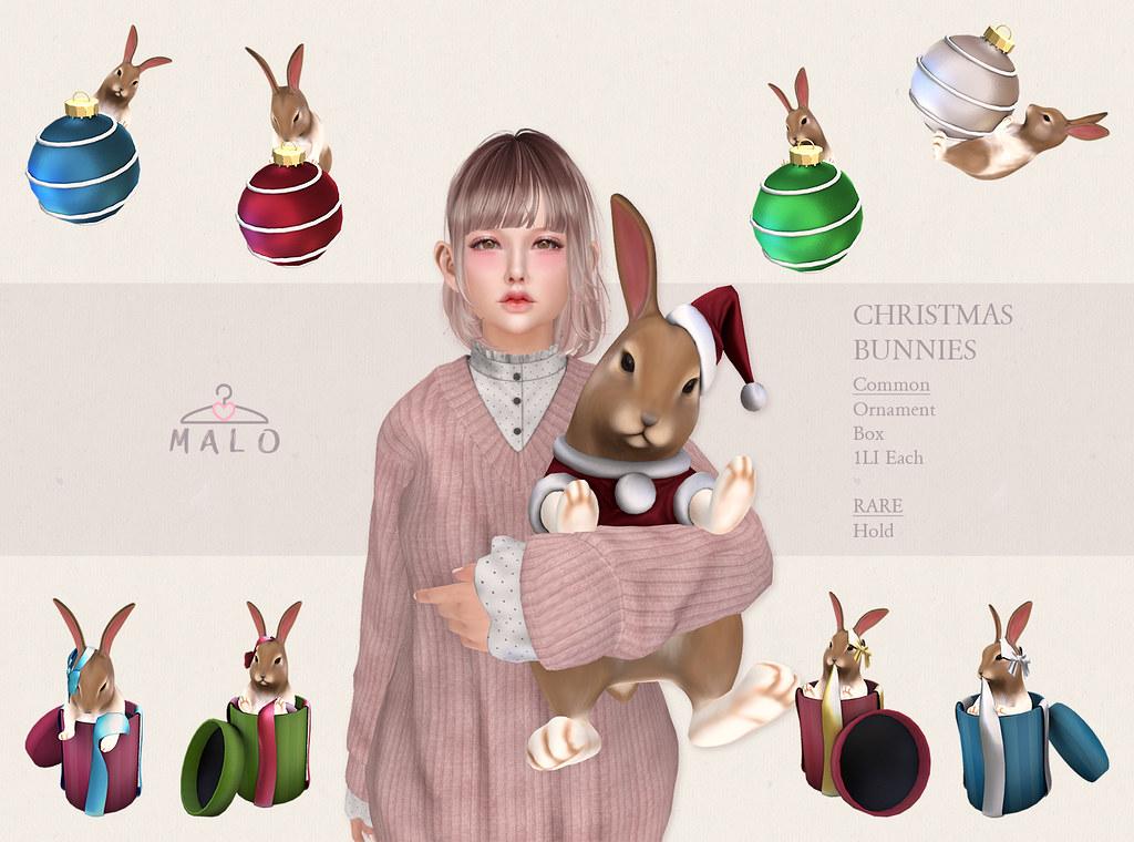 [MALO] Christmas Bunnies Gacha @ SaNaRae
