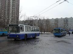 6816_20060330_059 Moscow trolleybus BKM-201 Biberevo