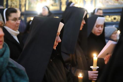Dzień życia konsekrowanego   Abp Marek Jędraszewski   Bazylika Mariacka, 20.02.2019