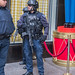 Armored NYPD Police Officers at Trump Tower, 725 Fifth Avenue, New York City