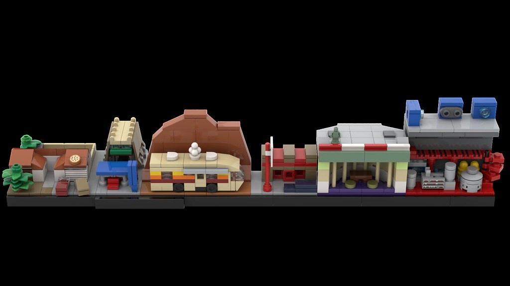 MOMAtteo79 - LEGO Breaking Bad Skyline