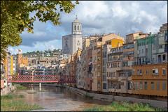 River Onyar   Girona, Catalonia
