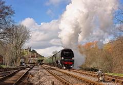 34072 Charter Swanage Railway 4/3/19