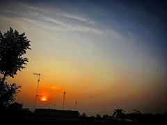 Asayake. #morning #sun #sunrise #asayake