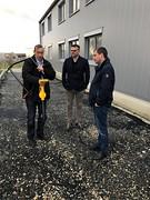 Vivax-Metrotech sitt nye Europakontor og lager i Scheßlitz utenfor Bamberg, Tyskland.