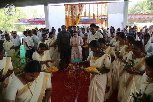 Arrival of Satguru Mata Ji in Satsang Hall