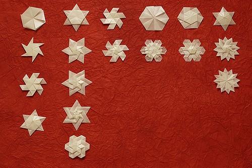 Origami Snowflake / Star / Flower (Shuzo Fujimoto)