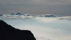 Mountain in winter / Montagne en hiver