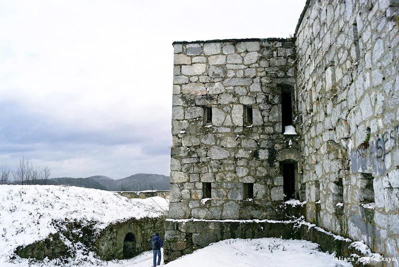 Архитектура зворничкой крепости