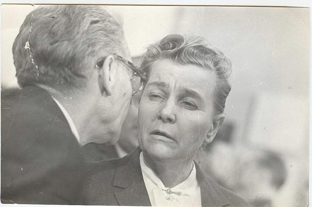 1960-е. Министр культуры Екатерина Фурцева