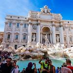 Fontana di Trevi - https://www.flickr.com/people/34965710@N05/