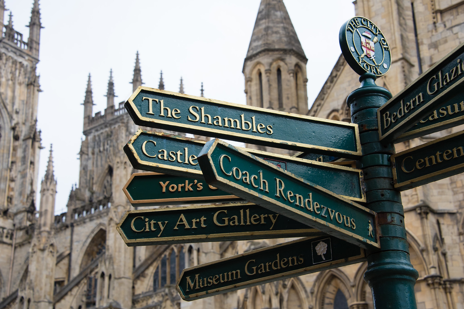 Directions to the Shamble from York Minster