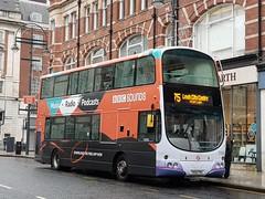 BBC Sounds, First Leeds YN08 PMX ( 37503 )