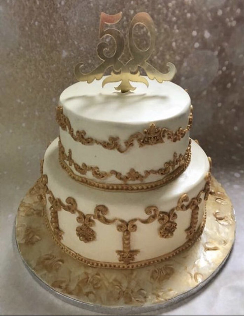 Ornamental Cake by Juhie Chopra of Blissful Bites