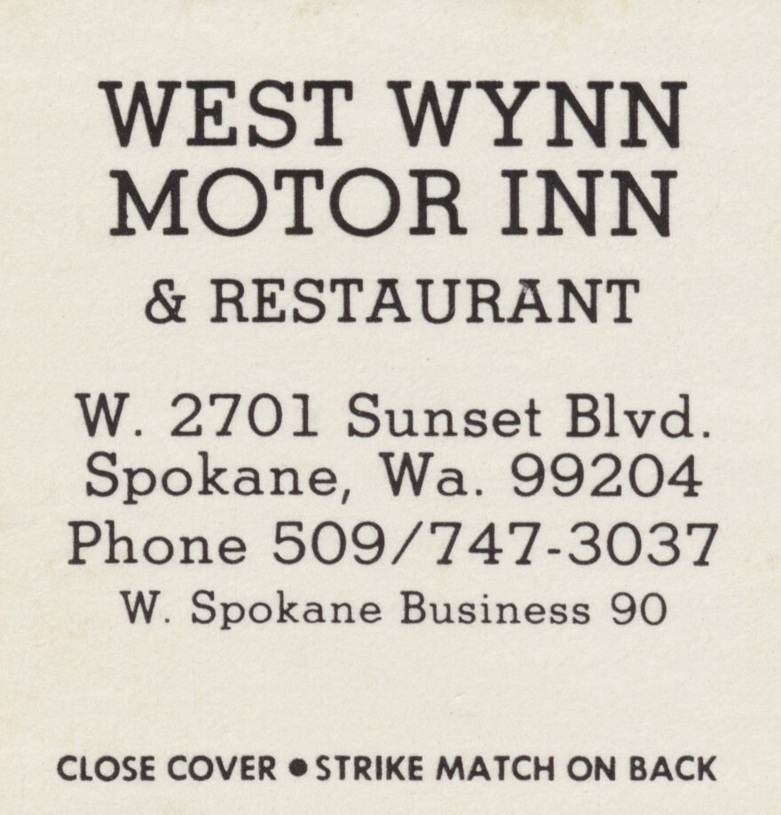 West Wynn Motor Inn & Restaurant - Spokane, Washington