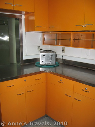 The kitchen at Minuteman Missile National Historic Park, South Dakota