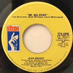 JEAN KNIGHT:MR.BIG STAFF(LABEL SIDE-A)