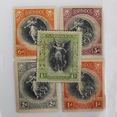 Macro Mondays theme - Hobby - Stamp Collecting