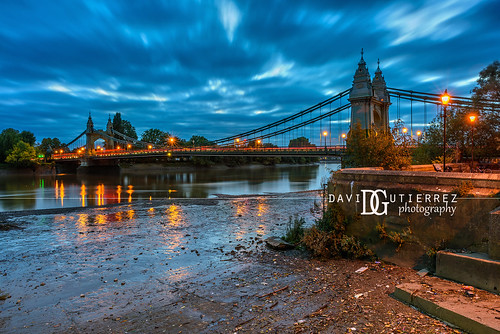 Hammersmith Bridge, London, UK