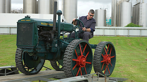1936 Massey Harris GP 4WD Tractor.