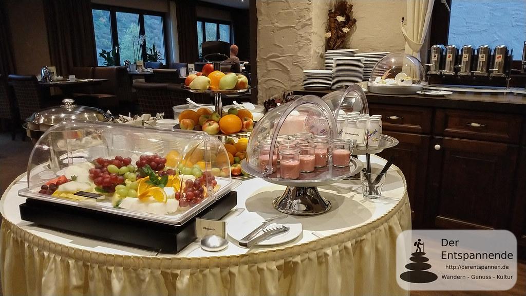 Frühstücksbuffet im Hotel Lellmann, Löf