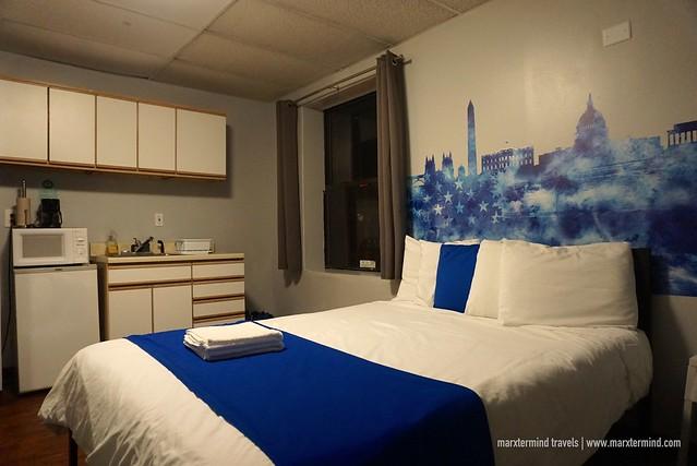HI Washington DC Hostel Double Room En Suite