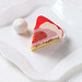 """Santa Hat"" - Strawberry Champagne Entremet"