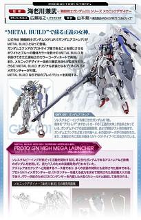 METAL BUILD Gundam Astraea +Proto Gn High Mega Launcher