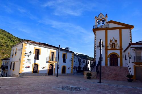 <Plaza Virgen de la Salud> Jimera de Libar (Málaga)