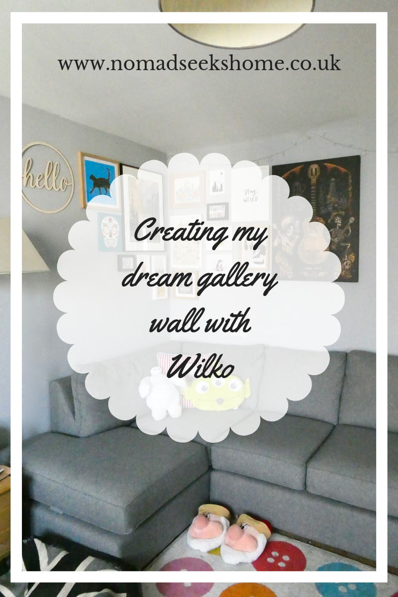 Creating my Dream Gallery Wall with Wilko – AD