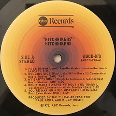 HITCHHIKERS:HITCHHIKERS(LABEL SIDE-A)