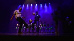 09-11-2018: LEC homenageado em teatro por alunos da Escola Norman Prochet