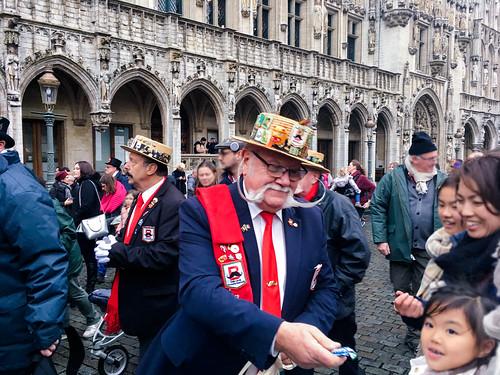 Los ayudantes de Sinterklaas