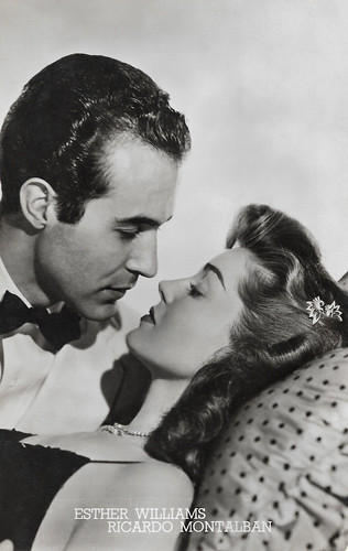 Ricardo Montalban and Esther Williams in Neptune's Daughter (1949)